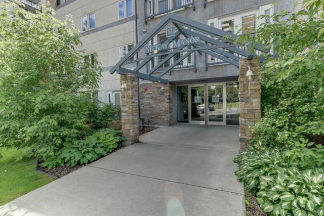 411 10403 98 Avenue, Edmonton, AB T5K 2Y5 (#E4070868) :: GETJAKIE Realty Group Inc.