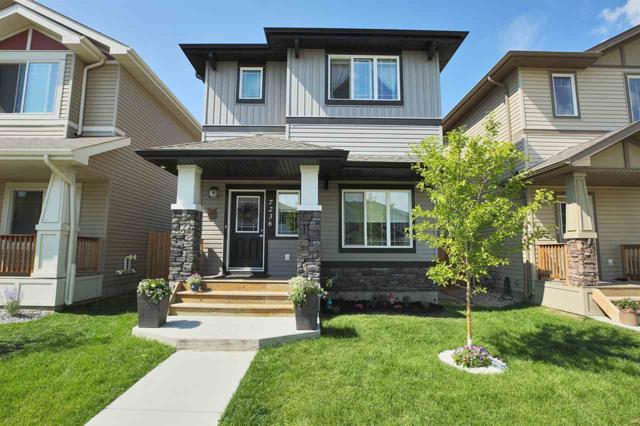 7236 Armour Crescent, Edmonton, AB T6W 2S1 (#E4077440) :: GETJAKIE Realty Group Inc.