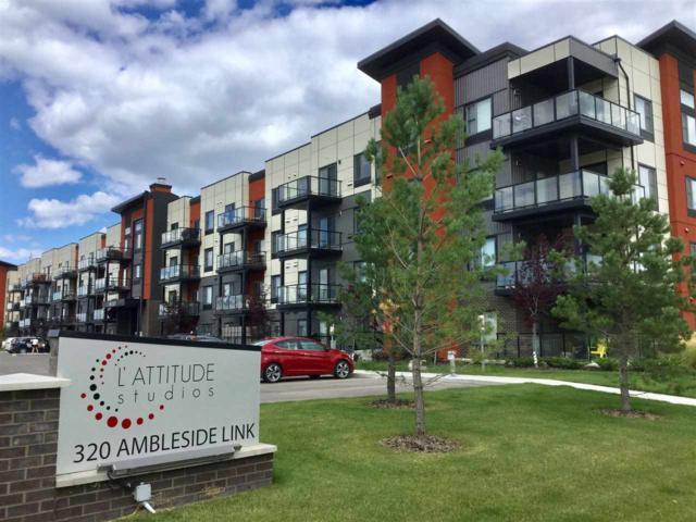 404 320 AMBLESIDE, Edmonton, AB T6W 2Z9 (#E4078229) :: GETJAKIE Realty Group Inc.