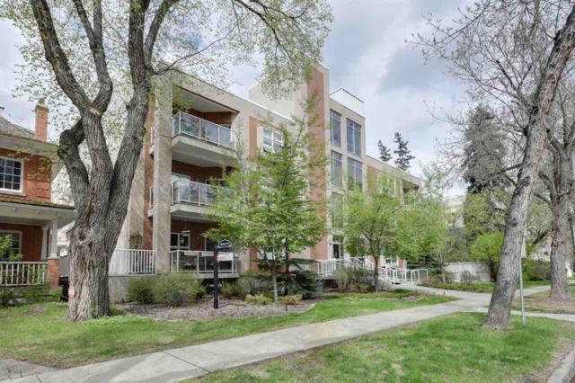 305 9910 111 Street, Edmonton, AB T5K 1K2 (#E4078288) :: GETJAKIE Realty Group Inc.