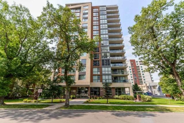 402 10046 117 Street, Edmonton, AB T8K 1X2 (#E4078310) :: GETJAKIE Realty Group Inc.
