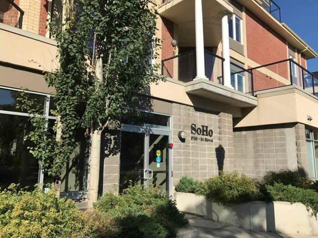 306 9750 94 Street, Edmonton, AB T6C 2E3 (#E4084297) :: GETJAKIE Realty Group Inc.