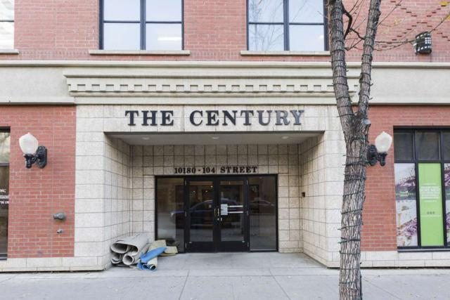807 10180 104 Street, Edmonton, AB T5J 1A7 (#E4085518) :: The Foundry Real Estate Company
