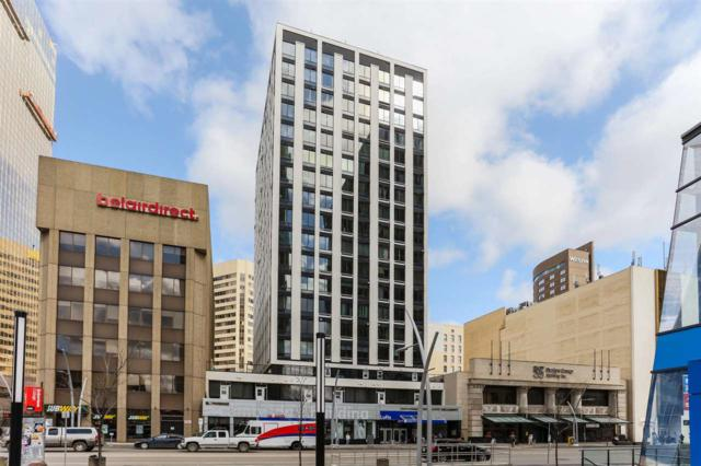 1503 10024 Jasper Avenue, Edmonton, AB T5J 1R2 (#E4085568) :: The Foundry Real Estate Company