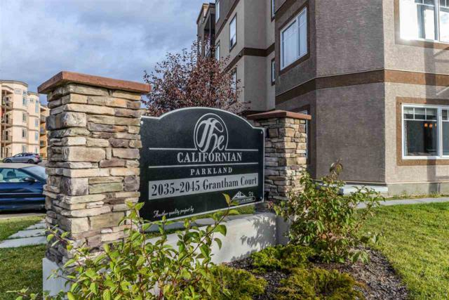 125 2045 Grantham Court NW, Edmonton, AB T5T 3X6 (#E4085856) :: The Foundry Real Estate Company