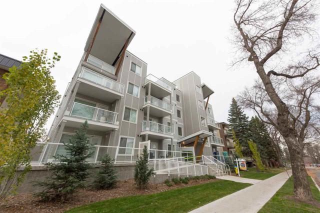 205 10030 83 Avenue, Edmonton, AB T6E 2C2 (#E4086126) :: GETJAKIE Realty Group Inc.