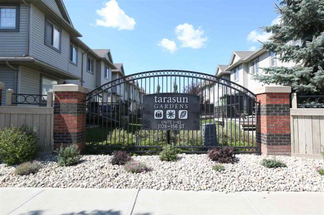 19 1128 156 Street, Edmonton, AB T6R 0C9 (#E4090164) :: The Foundry Real Estate Company