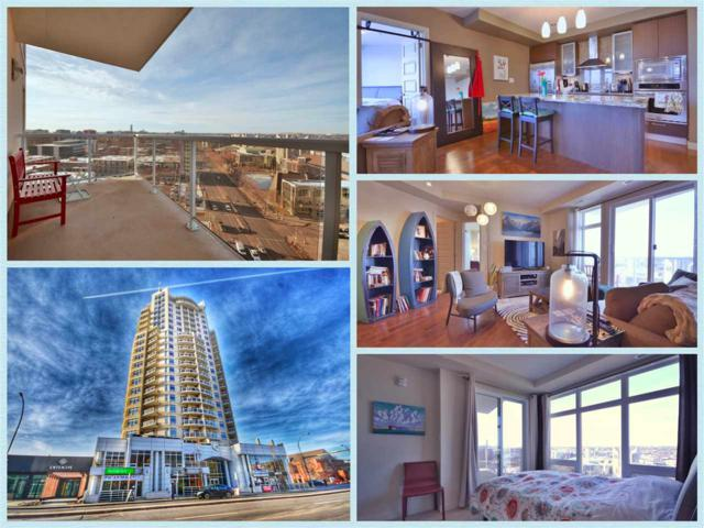 1407 10388 105 Street, Edmonton, AB T5J 0C2 (#E4090468) :: GETJAKIE Realty Group Inc.