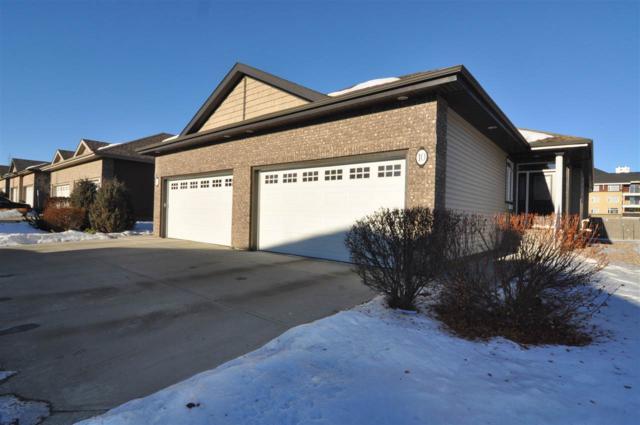 10 1407 Glastonbury Boulevard, Edmonton, AB T5T 3W3 (#E4090572) :: The Foundry Real Estate Company