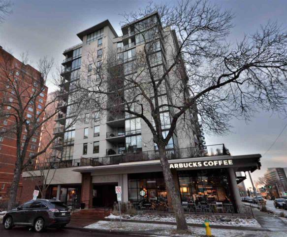 704 10028 119 Street NW, Edmonton, AB T5K 1Y8 (#E4092406) :: GETJAKIE Realty Group Inc.
