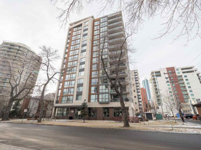404 10046 117 Street NW, Edmonton, AB T5K 1X2 (#E4092536) :: GETJAKIE Realty Group Inc.