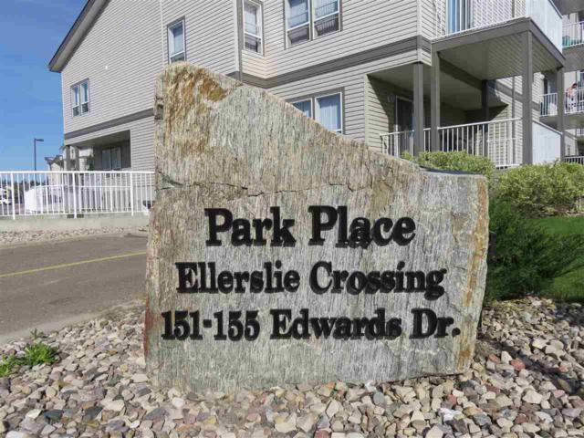 209 155 Edwards Drive, Edmonton, AB T6X 1N6 (#E4093052) :: The Foundry Real Estate Company