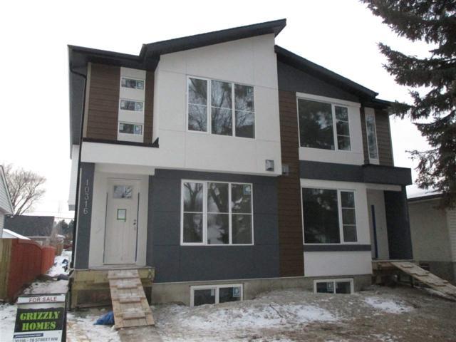 10318 78 Street NW, Edmonton, AB T6A 3E5 (#E4093587) :: The Foundry Real Estate Company