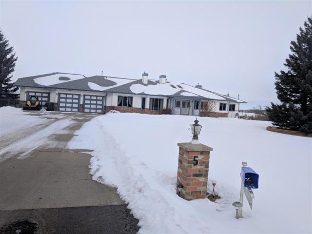 # 5 24119 TWP RD 554 NW, Rural Sturgeon County, AB T8T 1X7 (#E4098719) :: The Foundry Real Estate Company