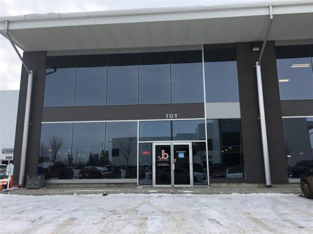 #101 125 Carleton Dr, St. Albert, AB T8N 3S6 (#E4099104) :: The Foundry Real Estate Company