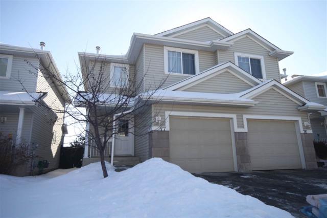 77 2021 Grantham Crest, Edmonton, AB T5T 6V7 (#E4100445) :: The Foundry Real Estate Company