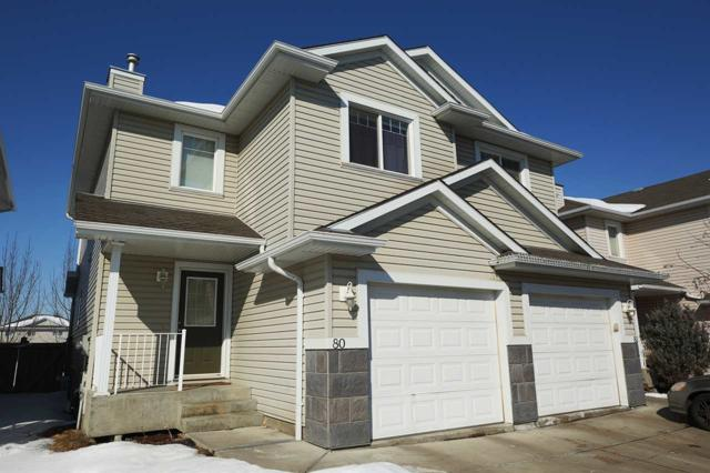80 287 Macewan Road SW, Edmonton, AB T6W 1T4 (#E4100720) :: The Foundry Real Estate Company
