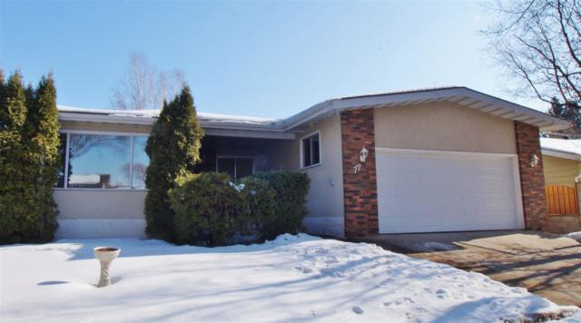 77 Forest Drive, St. Albert, AB T8N 1Z1 (#E4101333) :: The Foundry Real Estate Company
