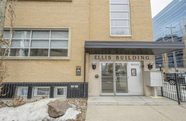 108 10123 112 Street NW, Edmonton, AB T5K 1M1 (#E4101856) :: The Foundry Real Estate Company