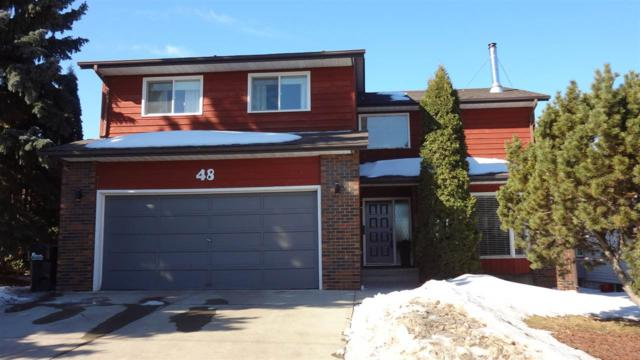 48 Woodstock Drive, Sherwood Park, AB T8A 4C3 (#E4102340) :: The Foundry Real Estate Company