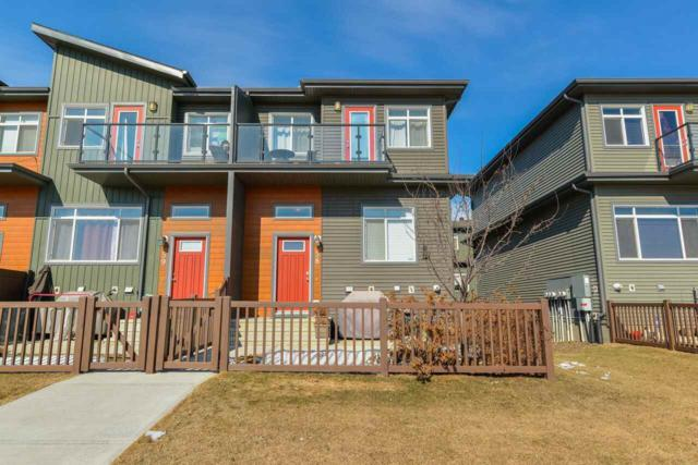 58 7503 Getty Gate NW, Edmonton, AB T5T 4S8 (#E4103515) :: The Foundry Real Estate Company
