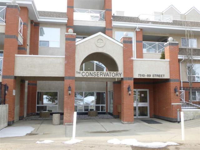 204 7510 89 Street NW, Edmonton, AB T6C 0X5 (#E4104772) :: The Foundry Real Estate Company
