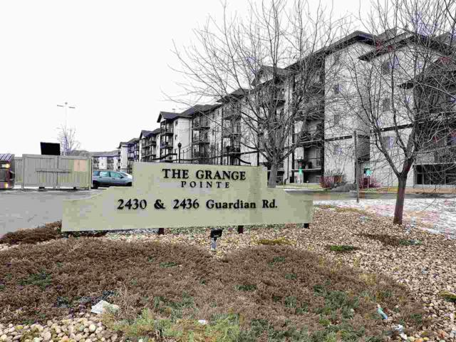318 2430 Guardian Road NW, Edmonton, AB T5T 6X9 (#E4104903) :: The Foundry Real Estate Company