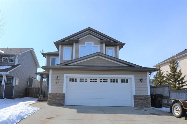 27 Highlands Way, Spruce Grove, AB T7X 0A6 (#E4104980) :: The Foundry Real Estate Company