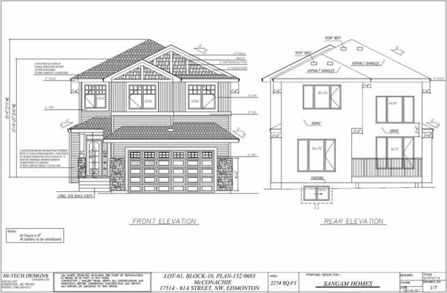 17514 61A Street NW, Edmonton, AB T5Y 3N2 (#E4104982) :: The Foundry Real Estate Company