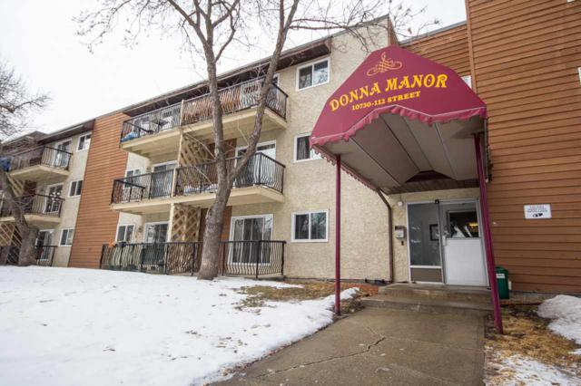 307 10730 112 Street NW, Edmonton, AB T5H 3H1 (#E4105481) :: The Foundry Real Estate Company