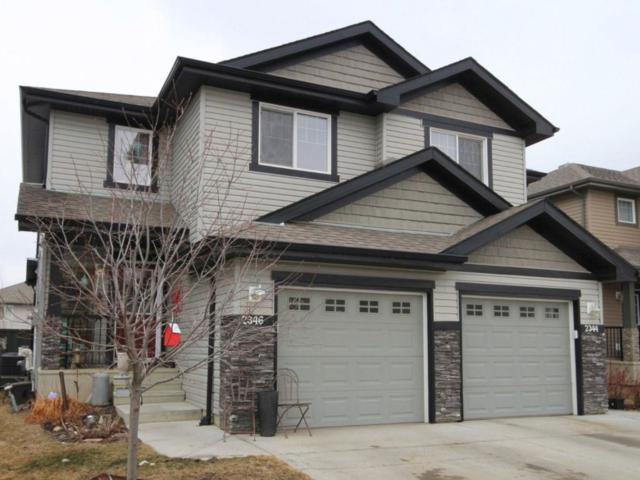 2346 Casselman Crescent, Edmonton, AB T6W 0W3 (#E4105611) :: The Foundry Real Estate Company