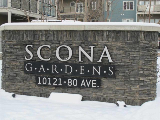 307 10121 80 Avenue NW, Edmonton, AB T6E 0B9 (#E4105825) :: The Foundry Real Estate Company