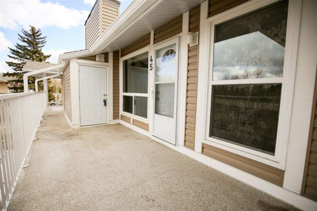 45 2204 118 Street, Edmonton, AB T6J 5K2 (#E4105919) :: The Foundry Real Estate Company