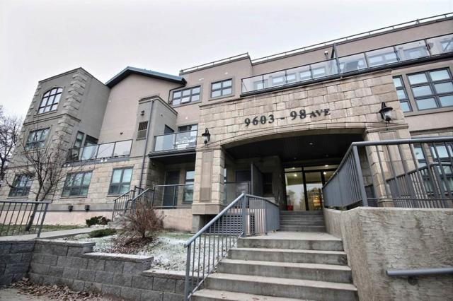 108 9603 98 Avenue, Edmonton, AB T6C 2E2 (#E4106009) :: GETJAKIE Realty Group Inc.