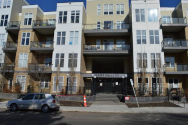 320 10531 117 Street NW, Edmonton, AB T5H 0A8 (#E4106347) :: The Foundry Real Estate Company