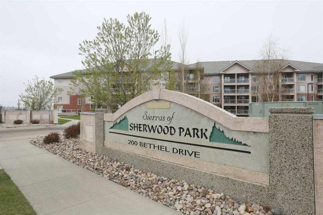422 200 Bethel Drive, Sherwood Park, AB T8H 2C5 (#E4108094) :: The Foundry Real Estate Company