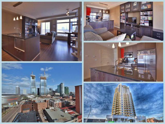 1404 10388 105 Street, Edmonton, AB T5J 0C2 (#E4109188) :: GETJAKIE Realty Group Inc.