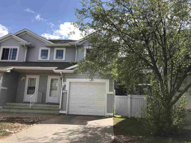17 14603 Miller Boulevard, Edmonton, AB T5Y 3B6 (#E4111740) :: The Foundry Real Estate Company