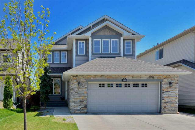 2043 126 Street, Edmonton, AB T6W 0C6 (#E4112428) :: The Foundry Real Estate Company