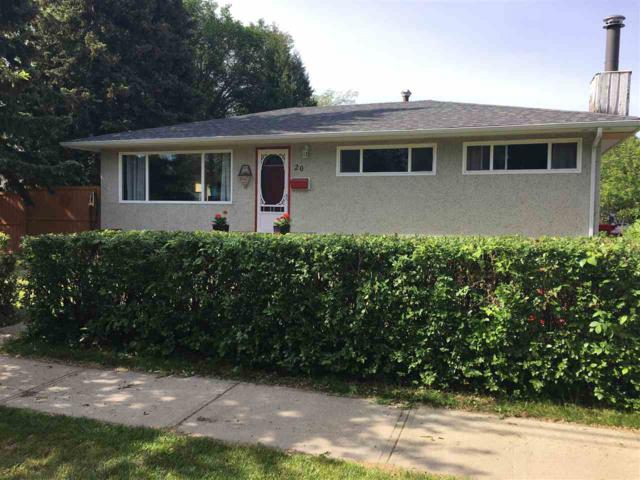 20 Sunnyside Crescent, St. Albert, AB T8N 0J5 (#E4114602) :: The Foundry Real Estate Company