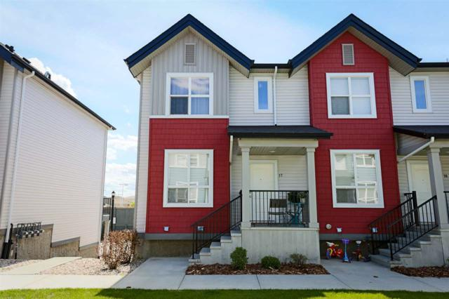 17 6075 Schonsee Way, Edmonton, AB T5Z 0H4 (#E4114899) :: The Foundry Real Estate Company