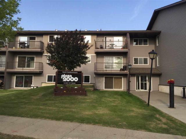 320 15105 121 Street, Edmonton, AB T5X 2G3 (#E4115653) :: The Foundry Real Estate Company