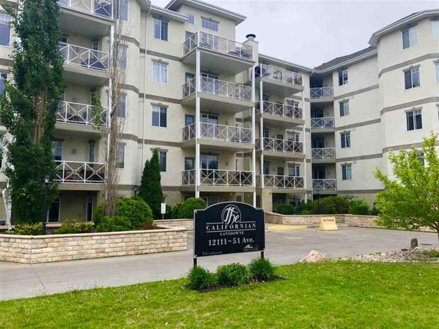504 12111 51 Avenue, Edmonton, AB T6H 6A3 (#E4115852) :: The Foundry Real Estate Company