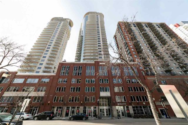 1605 10152 104 Street, Edmonton, AB T5J 0B6 (#E4115971) :: The Foundry Real Estate Company