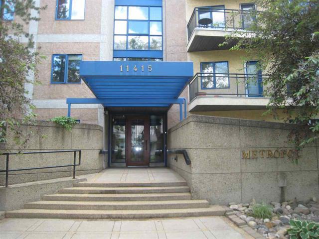 104 11415 100 Avenue, Edmonton, AB T5K 0J5 (#E4116737) :: The Foundry Real Estate Company