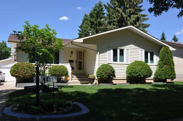 41 St Vital Avenue, St. Albert, AB T8N 1K7 (#E4116856) :: The Foundry Real Estate Company