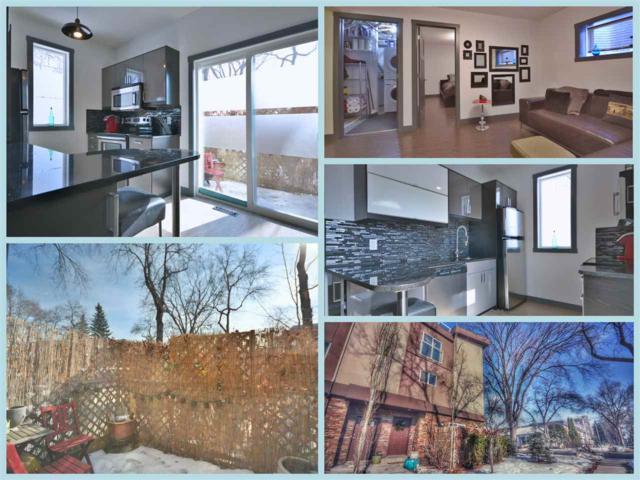 1 10108 83 Avenue, Edmonton, AB T6E 2C4 (#E4116908) :: GETJAKIE Realty Group Inc.