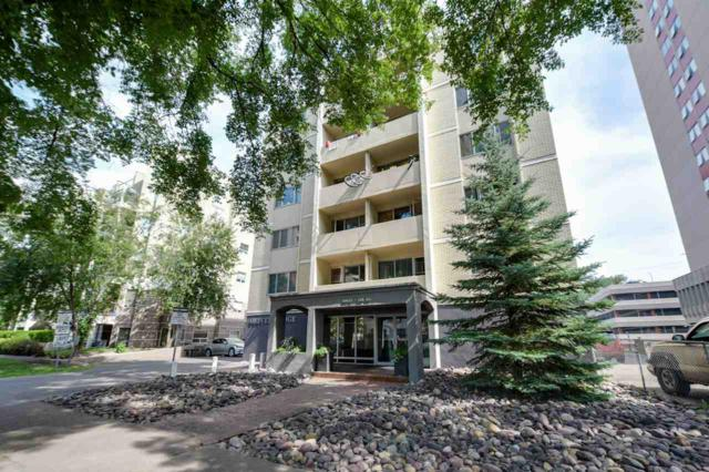 602 10021 116 Street, Edmonton, AB T5K 1V5 (#E4117173) :: GETJAKIE Realty Group Inc.