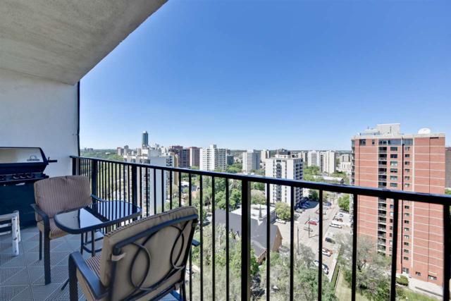 1605 11307 99 Avenue, Edmonton, AB T5K 0H2 (#E4117226) :: GETJAKIE Realty Group Inc.