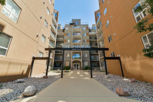 302 10235 112 Street, Edmonton, AB T5K 1M7 (#E4117420) :: GETJAKIE Realty Group Inc.